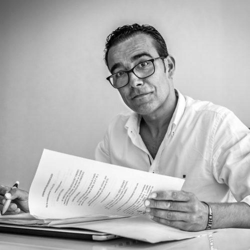 Guillermo Raigal Rodríguez. Equipo humano de Gestione Asesores Inmobiliarios.